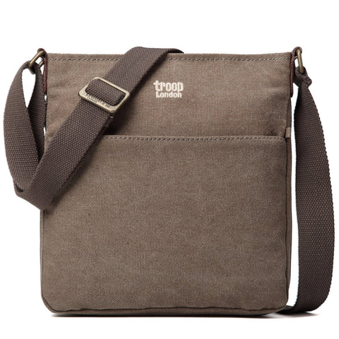 TRP0236 Troop London Classic Canvas Across Body Bag - Troop London