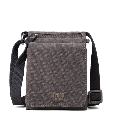 TRP0243 Troop London Classic Canvas Across Body Bag