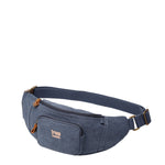 TRP0244 Troop London Classic Canvas Waist Bag - Troop London