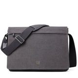 TRP0371 Troop London Classic Canvas Laptop Large Messenger Bag - 18'' Diagonally - Troop London
