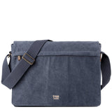 TRP0371 Troop London Classic Canvas Laptop Large Messenger Bag - 18'' Diagonally