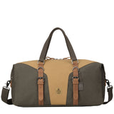 TRP0432 Troop London Heritage Canvas Travel Duffel Bag, Canvas Holdall, Gym Bag