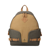 TRP0433 Troop London Heritage Canvas Backpack, Smart Casual Day-pack, Tablet Friendly Backpack