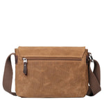 TRP0434 Troop London Heritage Canvas Small Across Body Bag, Small Travel Bag - Troop London