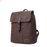 TRP0446 Troop London Heritage Canvas Backpack, Canvas Smart Casual Day-pack, Tablet Friendly Backpack