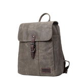 TRP0446 Troop London Heritage Canvas Backpack, Canvas Smart Casual Daypack, Tablet Friendly Backpack