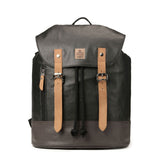 TRP0448 Troop London Heritage Canvas Laptop Backpack, Smart Casual Day-pack, Tablet Friendly Backpack