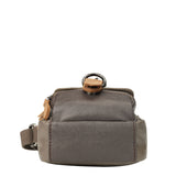 TRP0451 Troop London Heritage Canvas Across body Bag, Small Travel Bag - Troop London