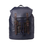 TRP0455 Troop London Heritage Canvas Laptop Backpack, Smart Casual Day-pack, Tablet Friendly Backpack