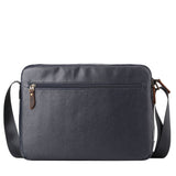 TRP0459 Troop London Heritage Canvas Laptop Messenger Bag, Smart Travel Bag - Troop London