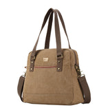 TRP0506 Troop London Classic Canvas Shoulder Bag