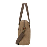 TRP0506 Troop London Classic Canvas Shoulder Bag - Troop London