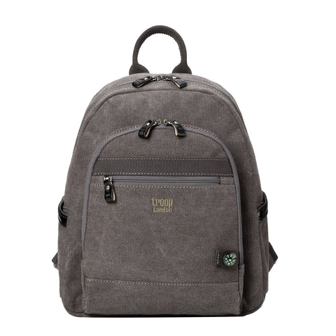 TRP0510 Troop London Classic Canvas Medium Backpack - Troop London