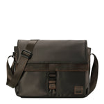 TRP0524 Troop London Heritage Nylon Messenger Bag, Laptop Messenger Bag - Troop London