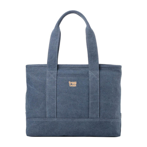 TRP0541 Troop London Classic Canvas Shoulder Bag/Tote Bag