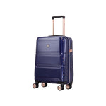 "TT002 20"" - Troop London Hard Shell 8Wheels Light Weight Trolley Case, Cabin Size Suitcase"