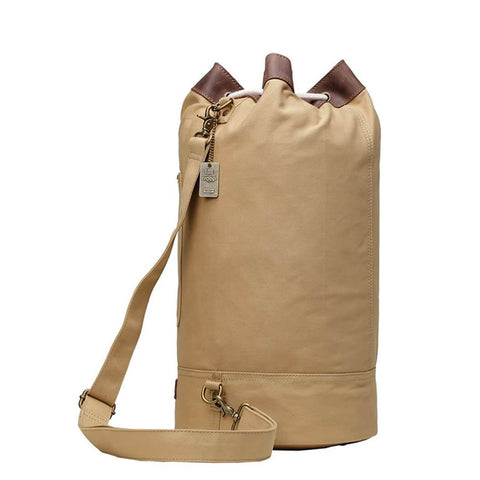 L873A Troop London Heritage Canvas Single Strap Backpack, Shoulder Bag, Gym Bag - Troop London