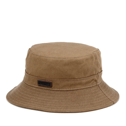 TRP0502 Troop London Accessories Waxed Canvas Fisherman Hat, Sun Hat, Outdoor Hat