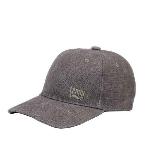 TRP0504 Troop London Accessories Canvas Baseball Cap, Outdoor Hat, Sun Hat