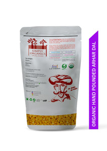 Simply organic Hand Pounded Arhar Dal - Simply Organics