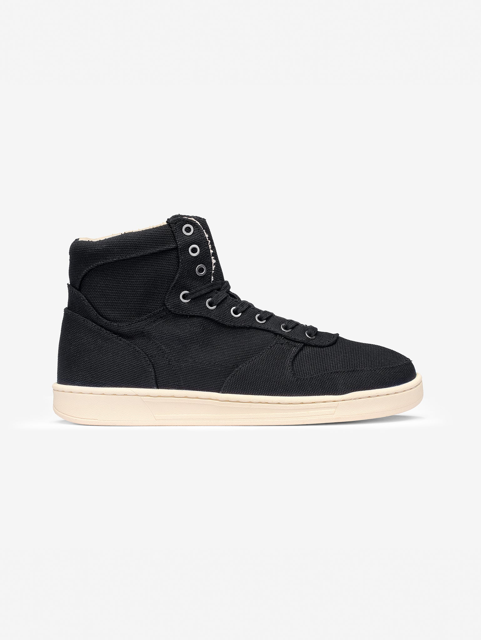 1978  - Black Vegan High Top Organic Canvas