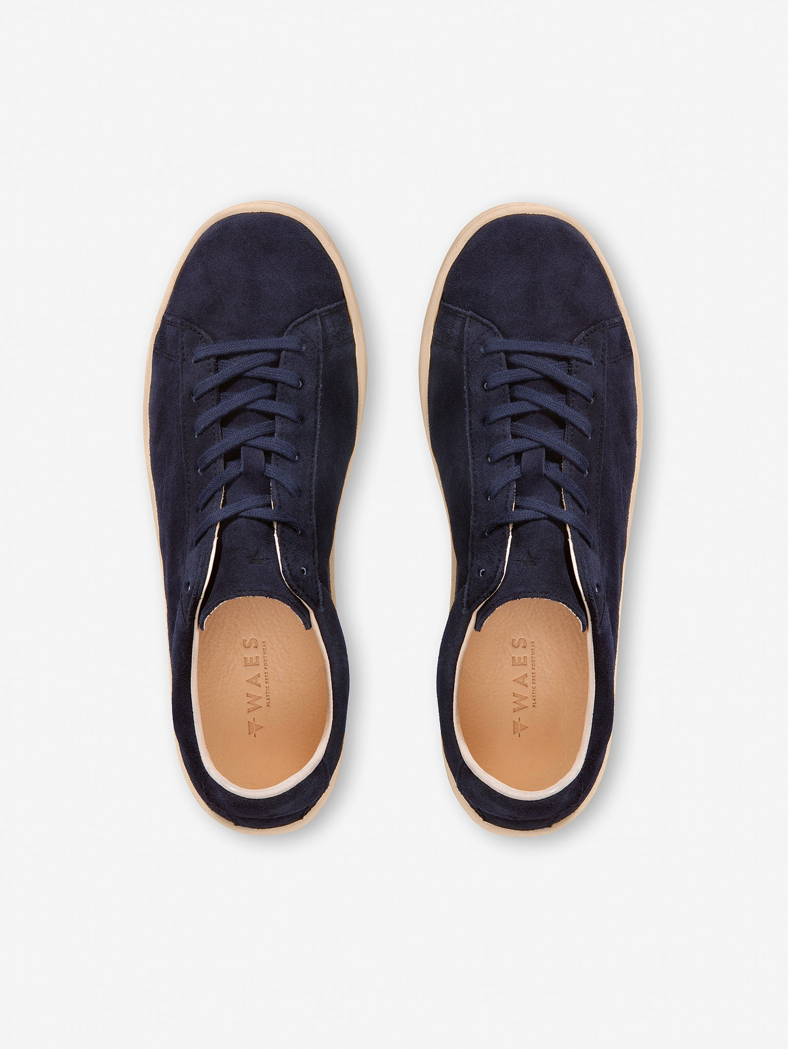 1971 - Navy Suede Trainer
