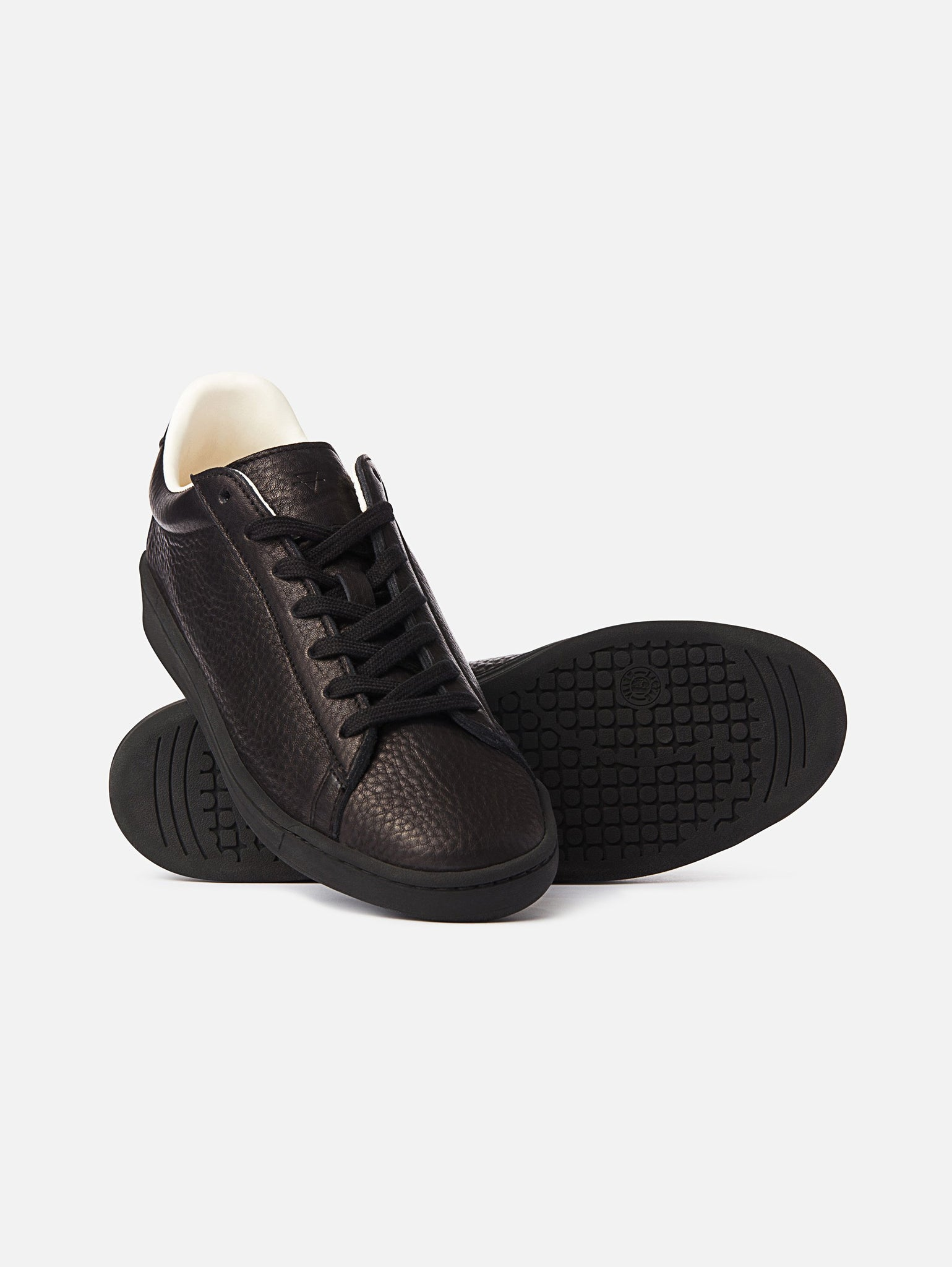 The 1970 - All Black Leather Trainerproduct_vendor#product_type