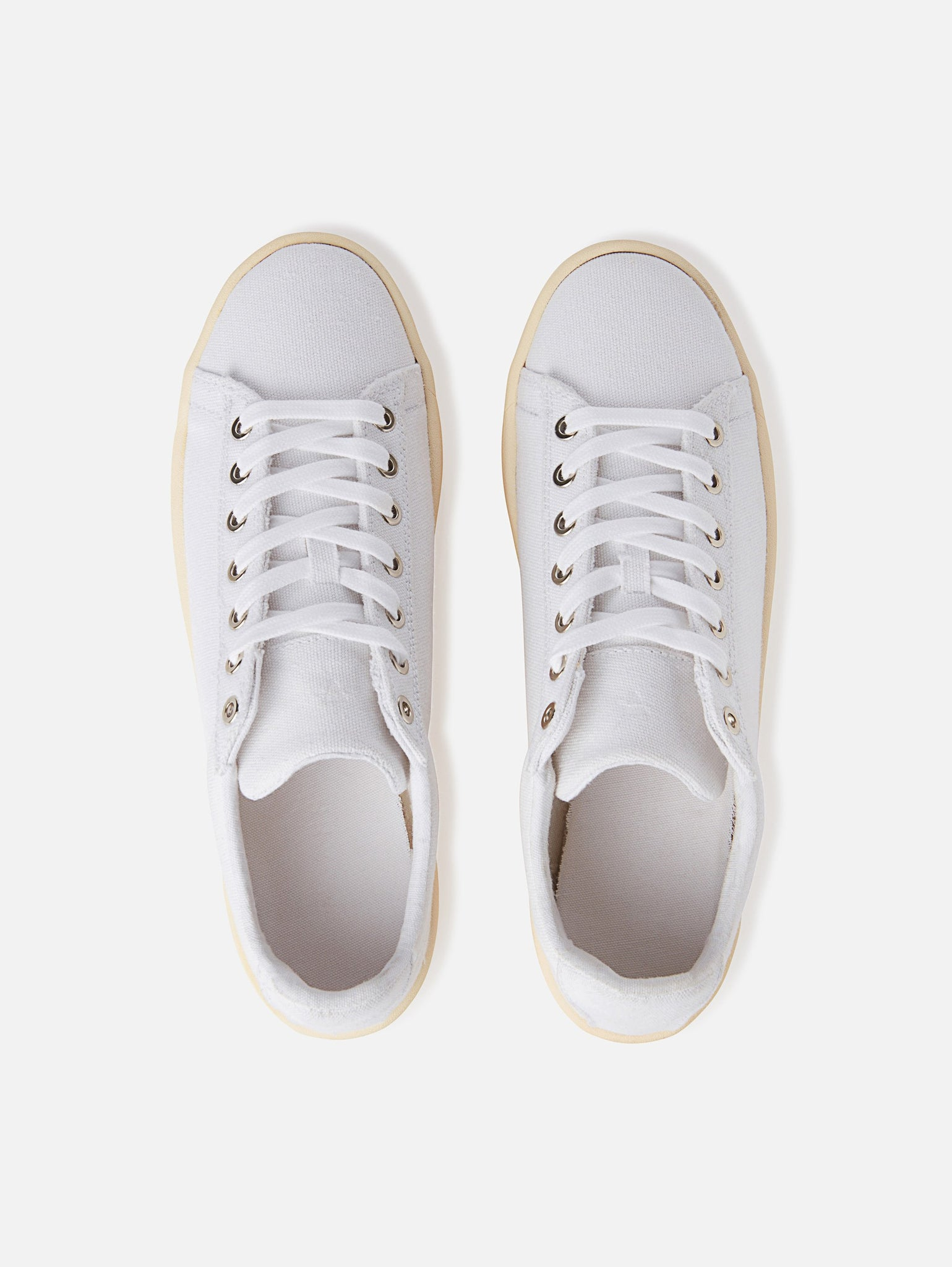 Hope - Vegan All White Canvas Shoe