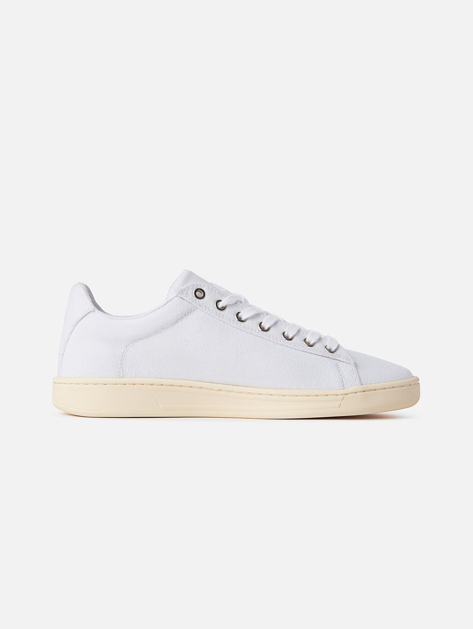 Hope - Vegan White Canvas, White Sole