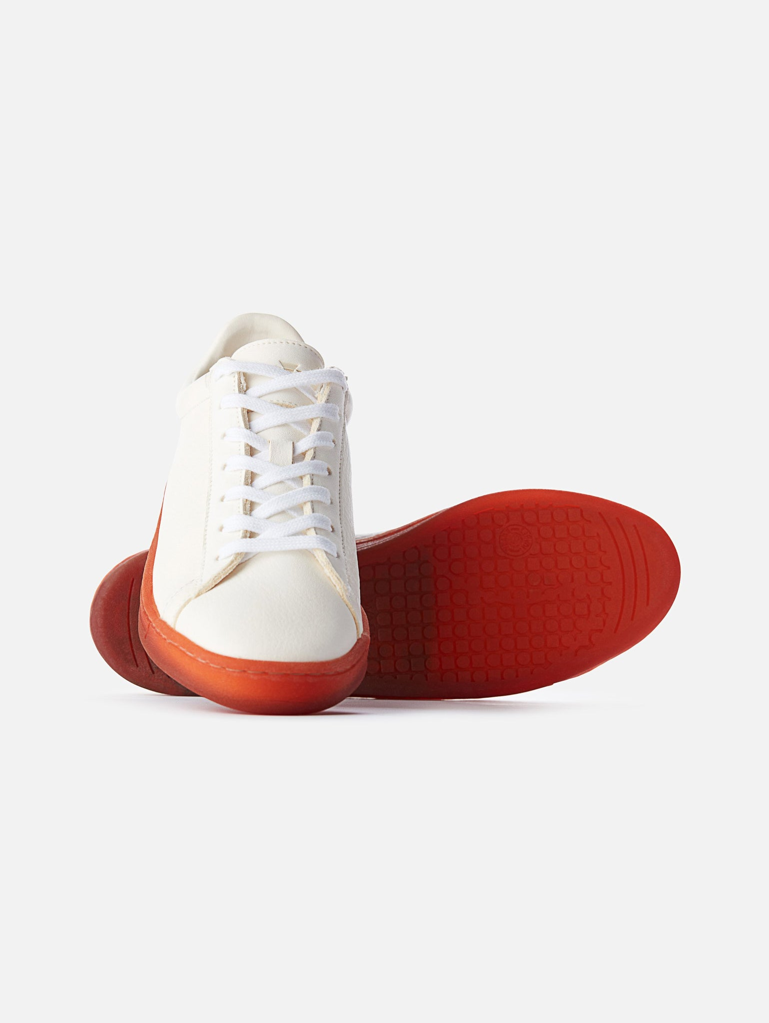 The 1970 - White/Red Leather Trainerproduct_vendor#product_type