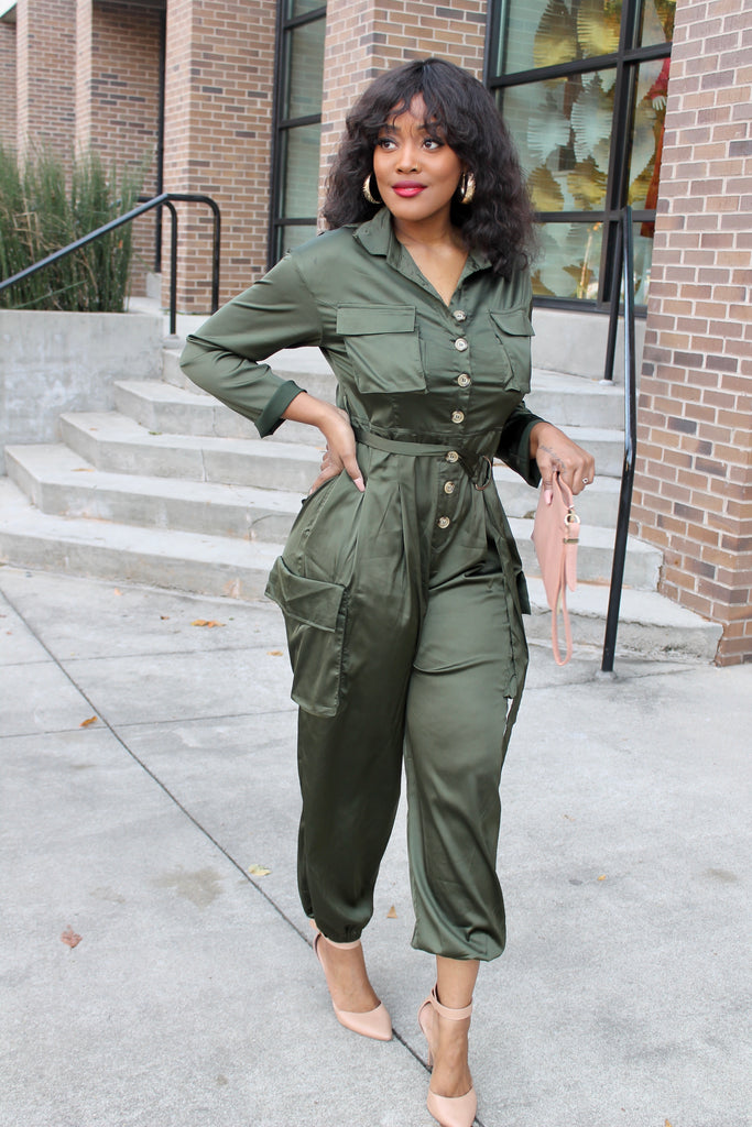 WERKIN IT UTILITY JUMPSUIT