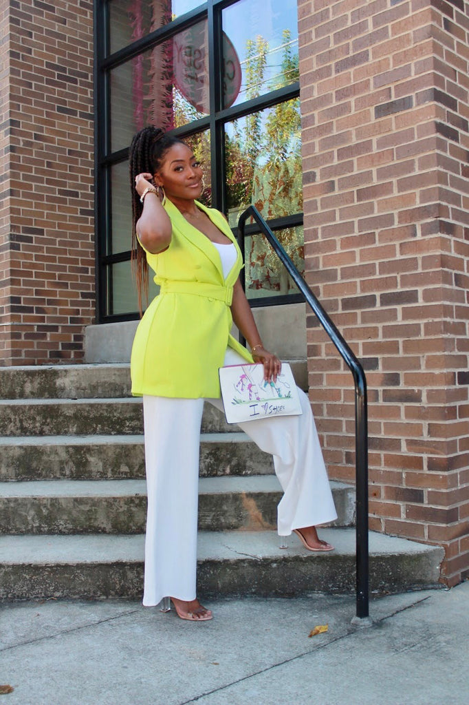 LIME LIGHT TUXEDO DRESS