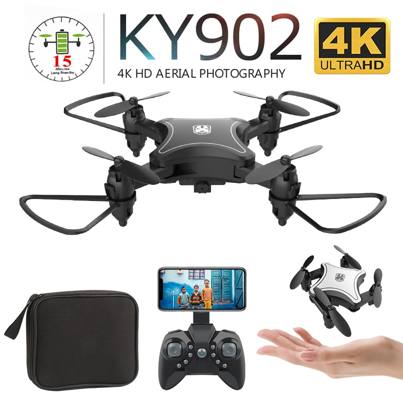 KY902 Mini Drone with 4K HD Camera