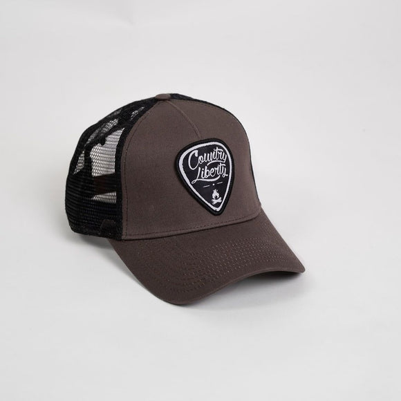 COUNTRY LIBERTY TRUCKER HAT