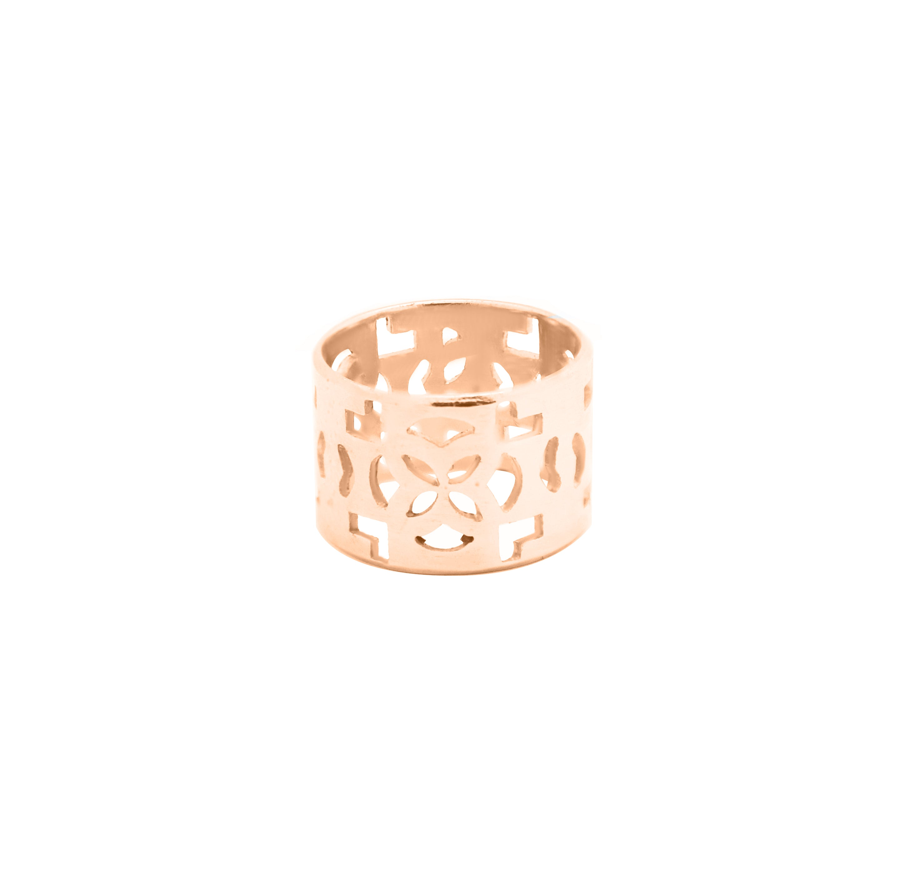 Azulejos Band Ring