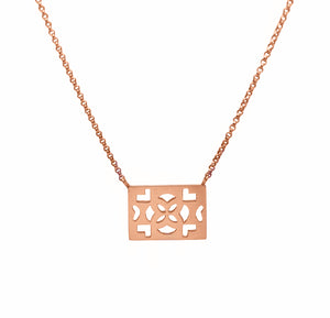 Azulejos Square Necklace