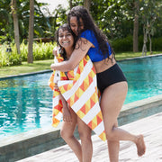 fast drying pool towel for swimming