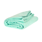 gym towel and yoga towels green compact towel folded