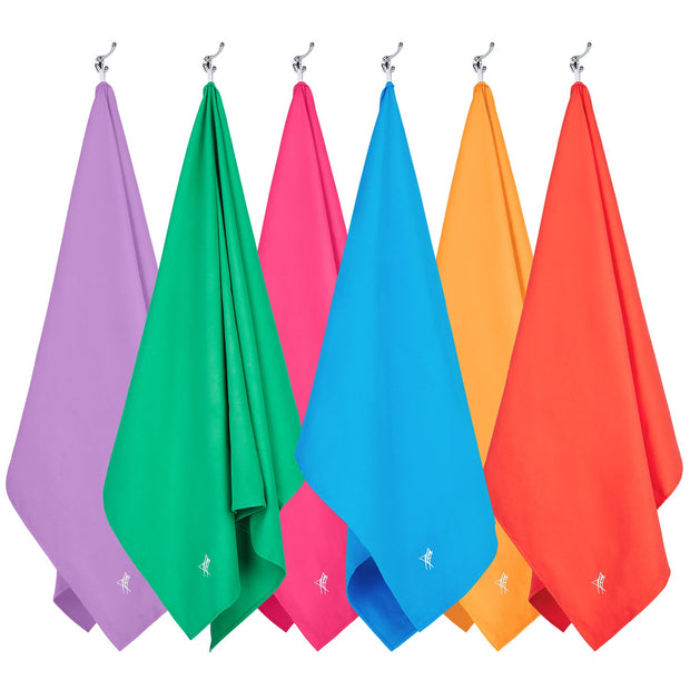 microfiber travel towels set6 microfiber towel hanging