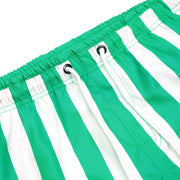 quick dry swim shorts green close up soft microfiber fabric