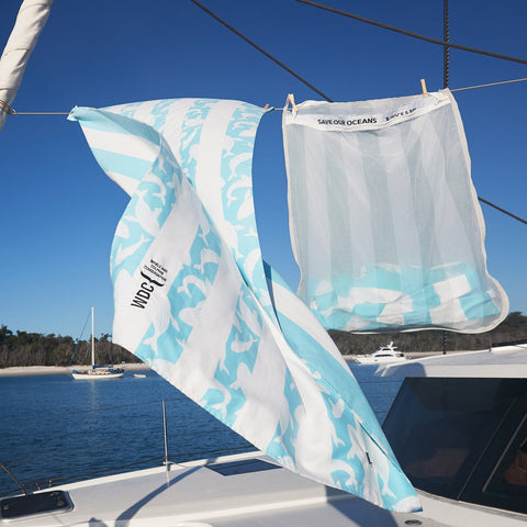 wdc save whales marine conservation promotional towel