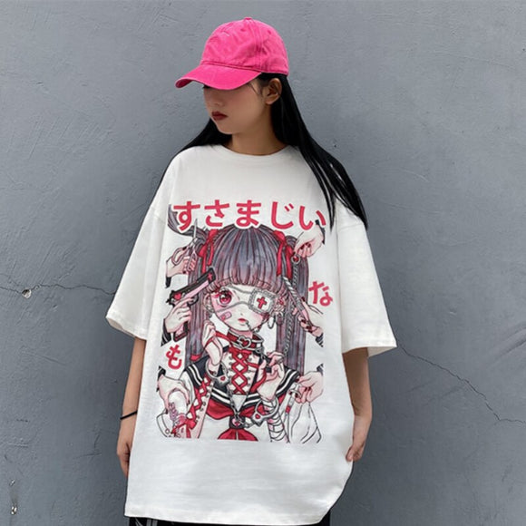 Pastel Korean Goth T-Shirt
