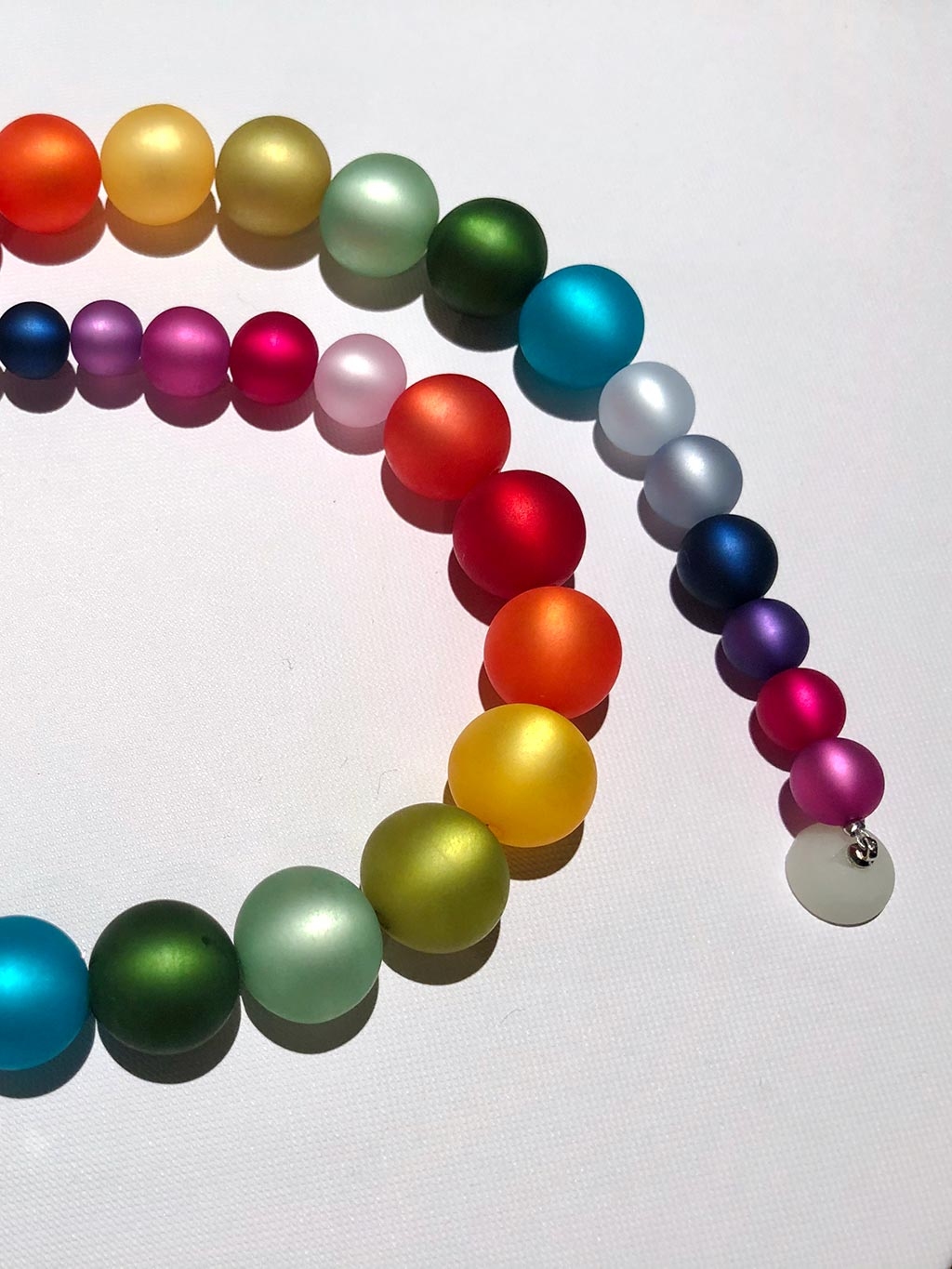 Rainbow Necklace - Celebrate Community and Your Unique Radiance (Shipping in August 2020*)