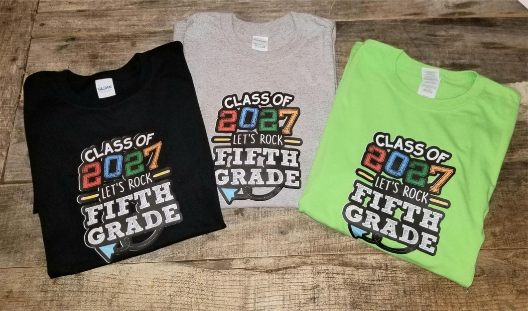 Let's Rock Fifth Grade 2027