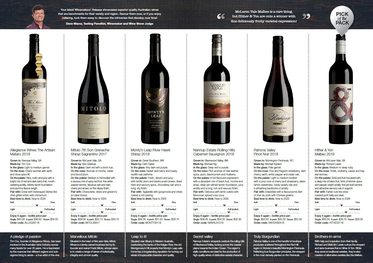 Pick of the Pack Wine Selector p2