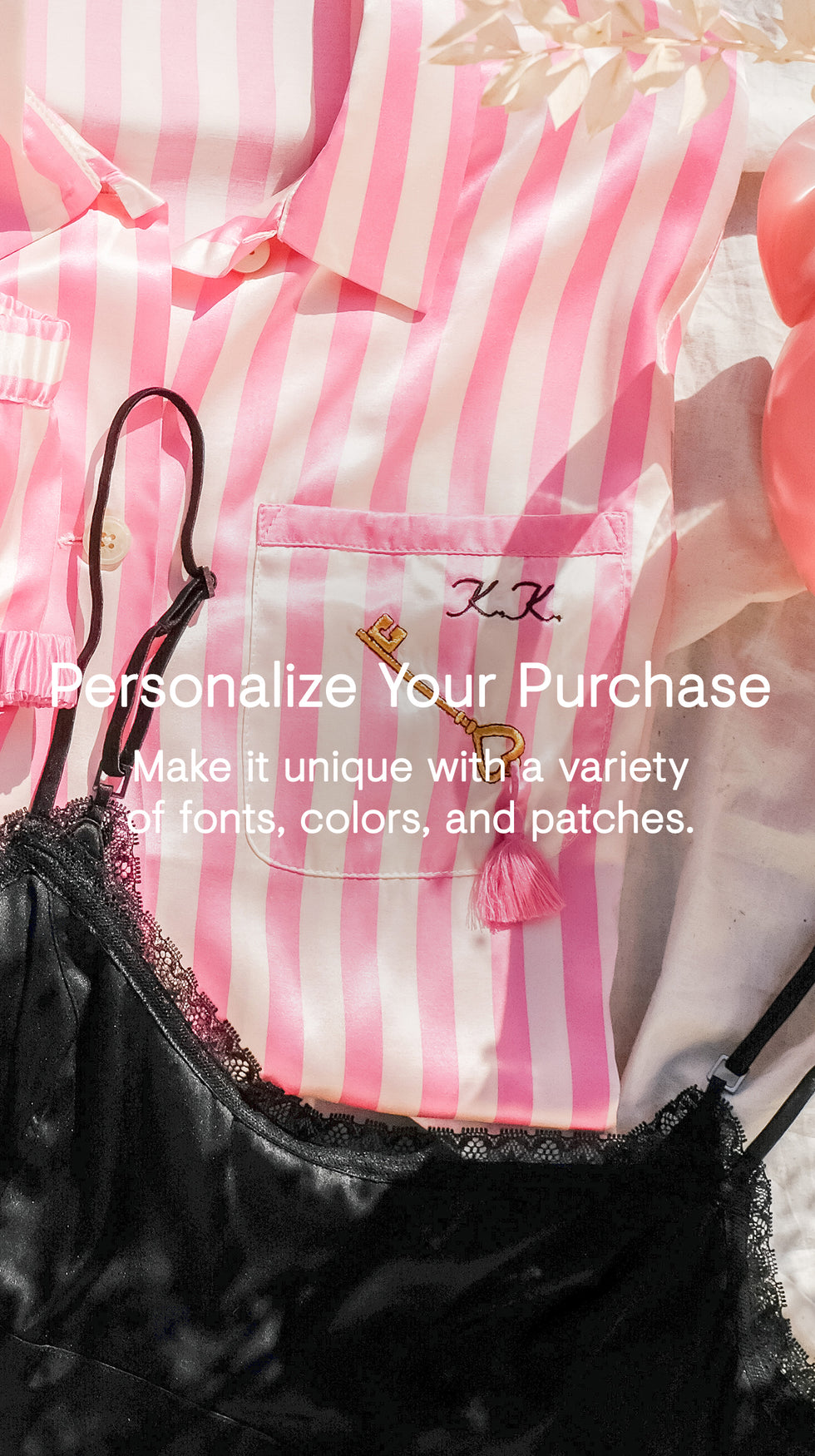personalize your purchase