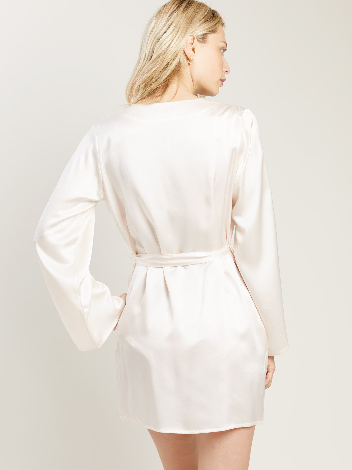 Langley Robe in Vanilla By Morgan Lane