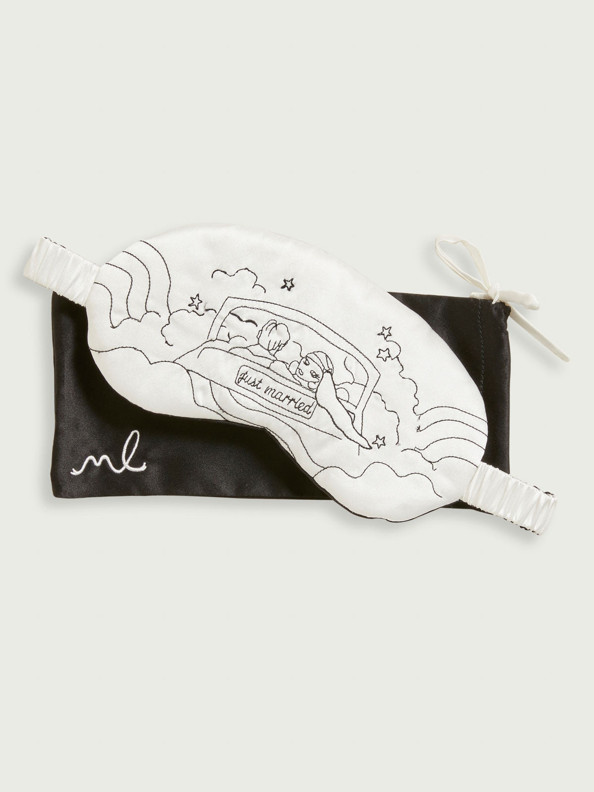 Just Married Sleeping Mask