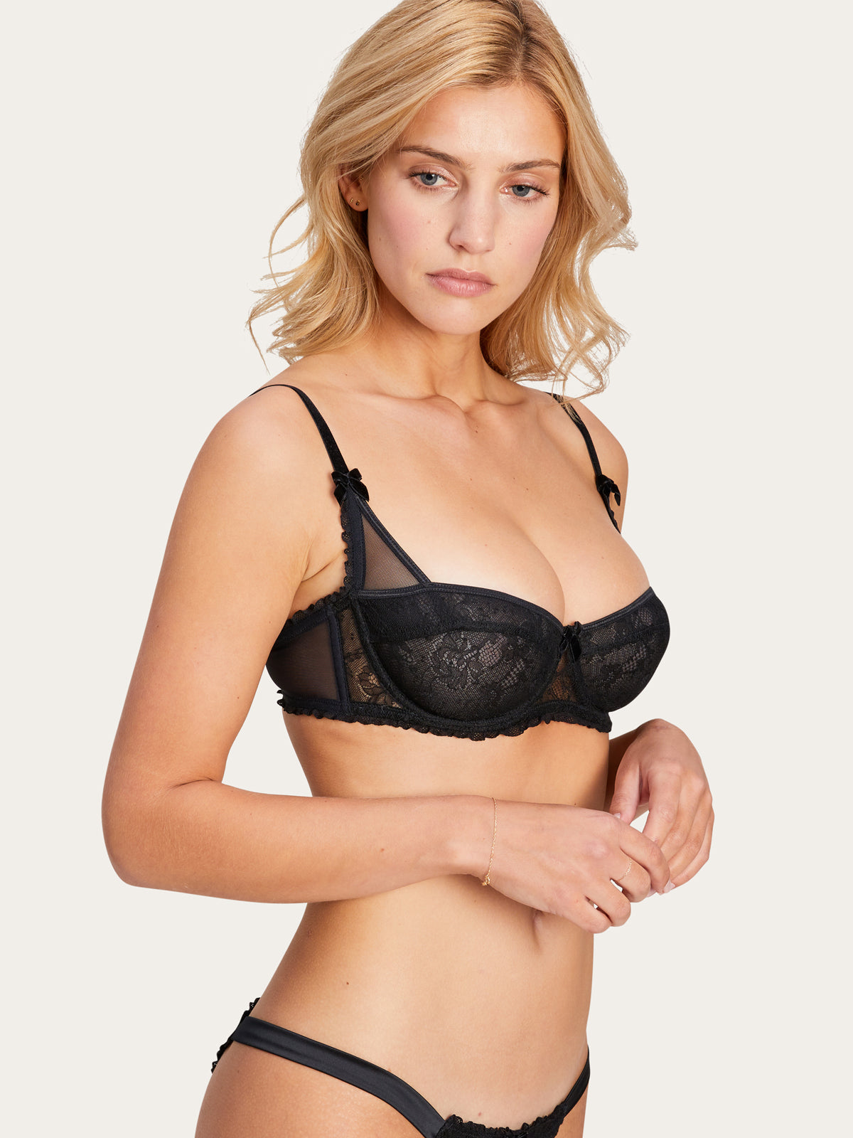 Charlotte Bra in Noir By Morgan Lane