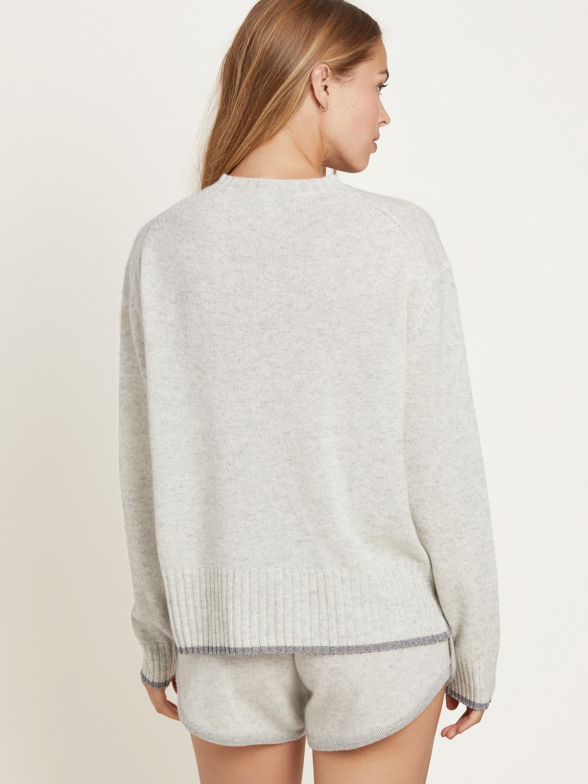 Charlee Sweater in Cashmere Gray By Morgan Lane
